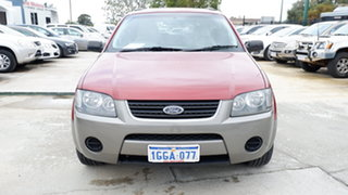 2004 Ford Territory SX TX Red 4 Speed Sports Automatic Wagon.