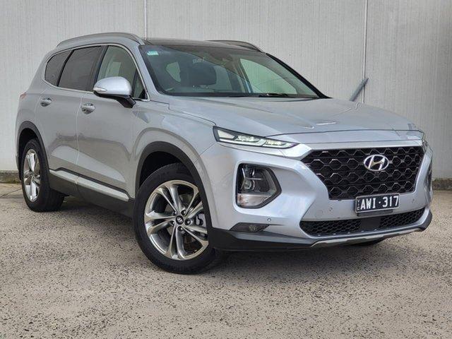 Used Hyundai Santa Fe DM5 MY18 Highlander Oakleigh, 2018 Hyundai Santa Fe DM5 MY18 Highlander Silver 6 Speed Sports Automatic Wagon