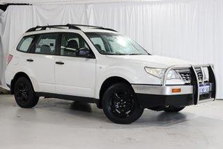 2011 Subaru Forester S3 MY11 X AWD White 5 Speed Manual Wagon.
