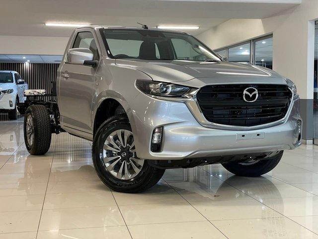 New Mazda BT-50 TFR40J XT 4x2 Waitara, 2021 Mazda BT-50 TFR40J XT 4x2 Silver 6 Speed Sports Automatic Cab Chassis