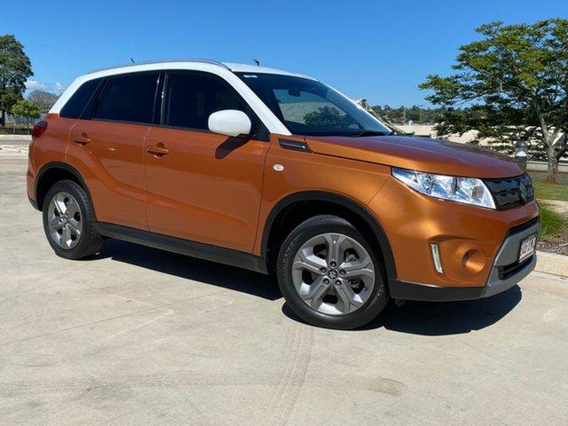 Used Suzuki Vitara LY RT-S Toowoomba, 2016 Suzuki Vitara LY RT-S Orange 6 Speed Automatic Wagon