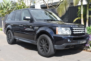 2006 Land Rover Range Rover Sport L320 06MY TDV6 Blue 6 Speed Sports Automatic Wagon