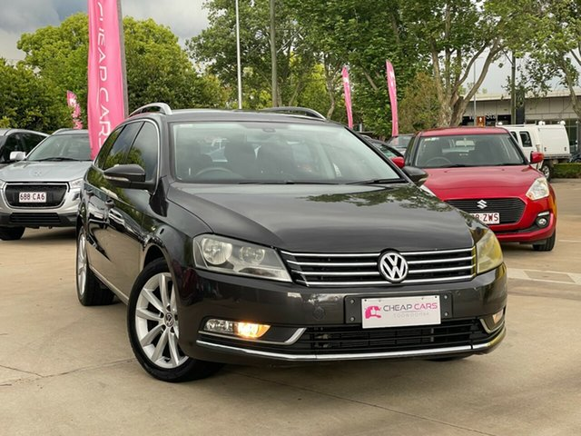 Used Volkswagen Passat Type 3C MY11 125TDI DSG Highline Toowoomba, 2011 Volkswagen Passat Type 3C MY11 125TDI DSG Highline Brown 6 Speed Sports Automatic Dual Clutch