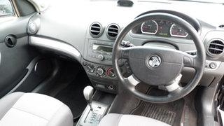 2009 Holden Barina TK MY09 Black 4 Speed Automatic Hatchback