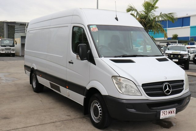 Used Mercedes-Benz Sprinter NCV3 MY10 419CDI High Roof LWB Robina, 2010 Mercedes-Benz Sprinter NCV3 MY10 419CDI High Roof LWB White 5 speed Automatic Van