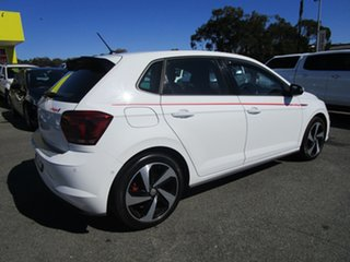 2018 Volkswagen Polo AW MY19 GTI DSG White 6 Speed Sports Automatic Dual Clutch Hatchback