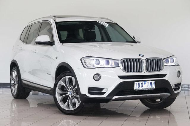 Used BMW X3 F25 MY17 xDrive30d , 2017 BMW X3 F25 MY17 xDrive30d Alpine White 8 Speed Automatic Wagon