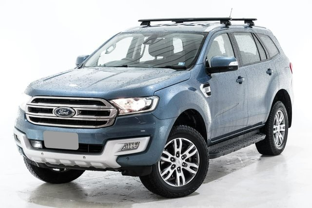 Used Ford Everest UA Trend Berwick, 2016 Ford Everest UA Trend Blue 6 Speed Sports Automatic SUV
