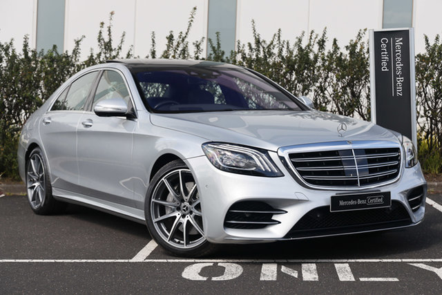 Certified Pre-Owned Mercedes-Benz S-Class W222 809MY S350 d 9G-Tronic Mulgrave, 2019 Mercedes-Benz S-Class W222 809MY S350 d 9G-Tronic Iridium Silver 9 Speed Sports Automatic Sedan