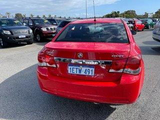 2015 Holden Cruze JH MY15 Equipe Red 6 Speed Automatic Sedan