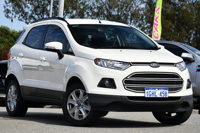 Used Ford Ecosport BK Trend PwrShift Clarkson, 2017 Ford Ecosport BK Trend PwrShift White 6 Speed Sports Automatic Dual Clutch Wagon