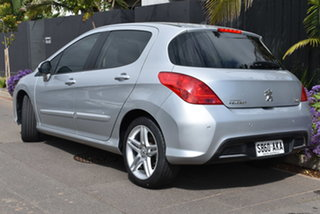 2010 Peugeot 308 T7 Sportium Silver 6 Speed Sports Automatic Hatchback.