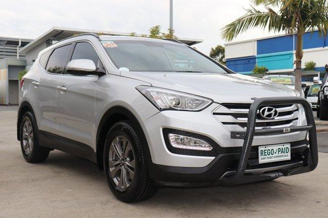 Used Hyundai Santa Fe DM2 MY15 Active Robina, 2015 Hyundai Santa Fe DM2 MY15 Active Silver 6 speed Automatic Wagon