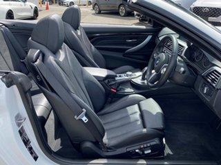 2016 BMW 430i F33 MY16.5 M Sport Alpine White 8 Speed Automatic Convertible