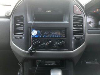 2005 Mitsubishi Pajero NP GLX LWB (4x4) White 5 Speed Auto Sports Mode Wagon
