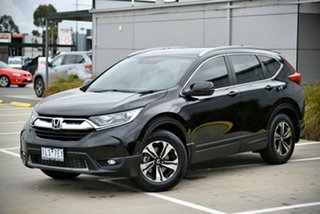 2017 Honda CR-V RW MY18 VTi FWD Black 1 Speed Constant Variable Wagon.