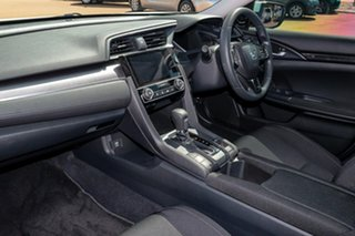 2018 Honda Civic 10th Gen MY18 VTi White 1 Speed Constant Variable Sedan