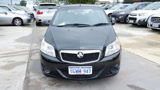 2009 Holden Barina TK MY09 Black 4 Speed Automatic Hatchback.