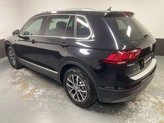 2016 Volkswagen Tiguan 5N MY17 110TSI DSG 2WD Comfortline Deep Black Pearl Effect 6 Speed
