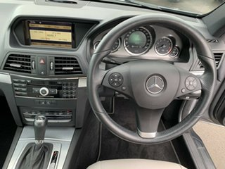 2009 Mercedes-Benz E-Class C207 E350 7G-Tronic Avantgarde Grey 7 Speed Sports Automatic Coupe