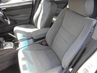 2008 Honda Civic 8th Gen MY08 VTi White 5 Speed Automatic Sedan