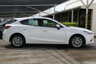 2018 Mazda 3 BN5478 Touring SKYACTIV-Drive White 6 Speed Sports Automatic Hatchback.