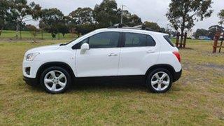 2015 Holden Trax TJ MY15 LTZ White 6 Speed Automatic Wagon.