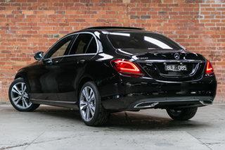 2021 Mercedes-Benz C-Class W205 801MY C200 9G-Tronic Obsidian Black 9 Speed Sports Automatic Sedan.