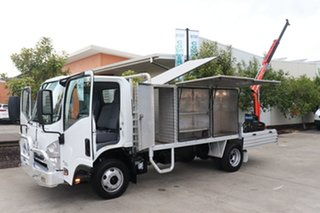 2016 Isuzu NPR White Manual Truck