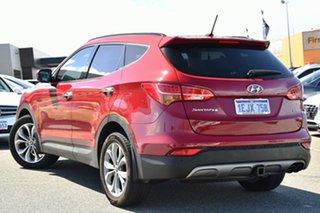 2014 Hyundai Santa Fe DM MY14 Highlander Red 6 Speed Sports Automatic Wagon.