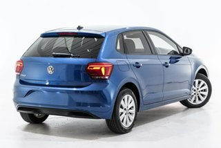 2020 Volkswagen Polo AW MY20 85TSI DSG Style Blue 7 Speed Sports Automatic Dual Clutch Hatchback.