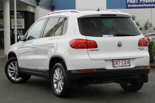 2015 Volkswagen Tiguan 5N MY15 132TSI DSG 4MOTION Pure White 7 Speed Sports Automatic Dual Clutch.