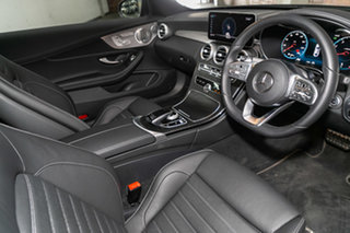2021 Mercedes-Benz C-Class C205 801MY C300 9G-Tronic Obsidian Black 9 Speed Sports Automatic Coupe.