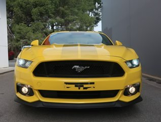 2015 Ford Mustang FM GT Fastback Yellow 6 Speed Manual Fastback