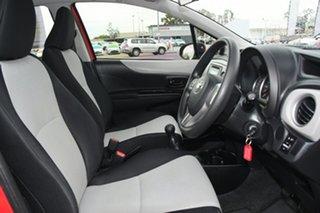 2012 Toyota Yaris NCP130R YR Cherry 5 Speed Manual Hatchback