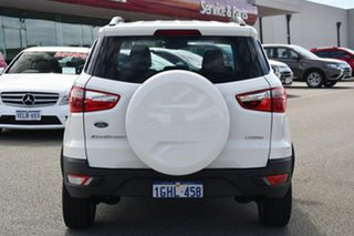 2017 Ford Ecosport BK Trend PwrShift White 6 Speed Sports Automatic Dual Clutch Wagon