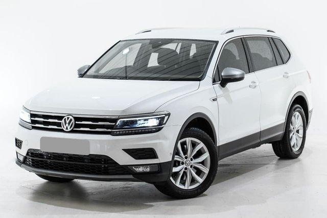 Used Volkswagen Tiguan 5N MY18 132TSI Comfortline DSG 4MOTION Allspace Berwick, 2018 Volkswagen Tiguan 5N MY18 132TSI Comfortline DSG 4MOTION Allspace White 7 Speed