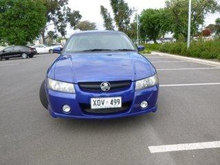 2007 Holden Crewman VZ S Blue Automatic Utility.