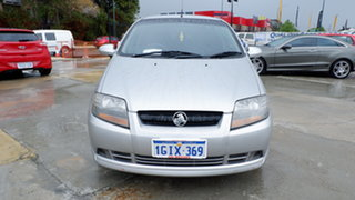 2007 Holden Barina TK MY07 Silver 4 Speed Automatic Hatchback.