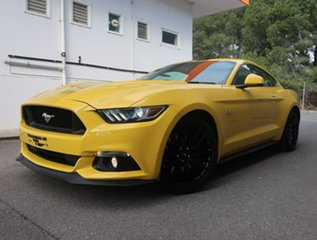 2015 Ford Mustang FM GT Fastback Yellow 6 Speed Manual Fastback.