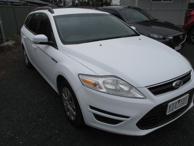 Used Ford Mondeo MC LX Echuca, 2011 Ford Mondeo MC LX White 6 Speed Sports Automatic Wagon