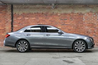 2017 Mercedes-Benz E-Class W213 808MY E220 d 9G-Tronic PLUS Selenite Grey 9 Speed Sports Automatic