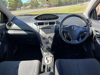 2010 Toyota Yaris NCP93R MY11 YRS Blue 4 Speed Automatic Sedan