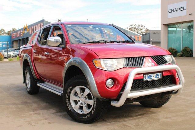 Used Mitsubishi Triton ML GLX-R (4x4) West Footscray, 2007 Mitsubishi Triton ML GLX-R (4x4) Red 4 Speed Automatic 4x4 Double Cab Utility