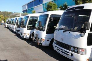 2016 Toyota Coaster XZB50R Deluxe White Automatic City Bus