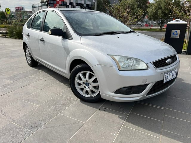 Used Ford Focus LT CL South Melbourne, 2008 Ford Focus LT CL Silver 4 Speed Sports Automatic Hatchback
