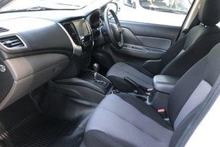 2018 Mitsubishi Triton MQ MY18 GLX (4x4) White 5 Speed Automatic Dual Cab Utility