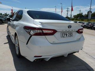 2019 Toyota Camry AXVH71R SL White 6 Speed Constant Variable Sedan Hybrid.