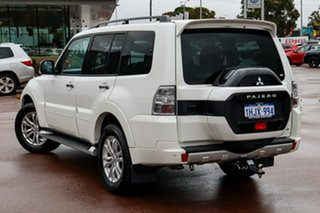 2018 Mitsubishi Pajero NX MY18 GLS White 5 Speed Sports Automatic Wagon.