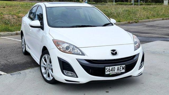 Used Mazda 3 BL10L1 SP25 Activematic Victor Harbor, 2009 Mazda 3 BL10L1 SP25 Activematic White 5 Speed Sports Automatic Sedan